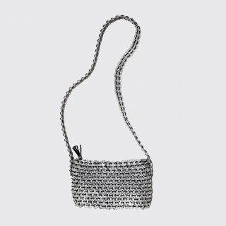 vintage pulltab hand crochet bag