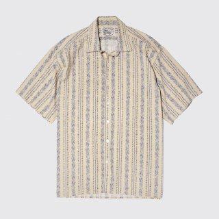 vintage flower h/s shirt