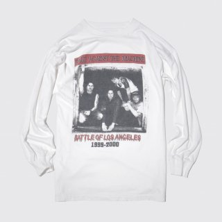 99-00's rage against the machine battle of los angeles l/s tee