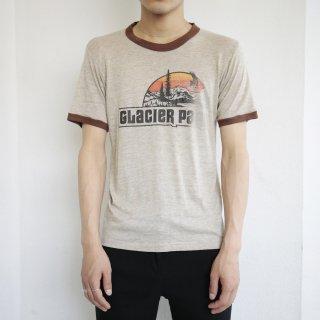 [50%OFF]70's glacier park ringer tee , body-sportswear