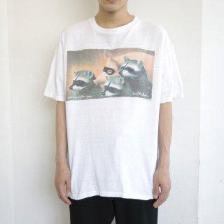 90's will bullas art print tee , body-oneita