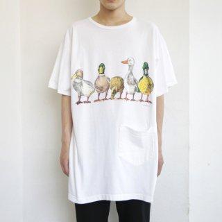 [30%OFF]90's duck art tee