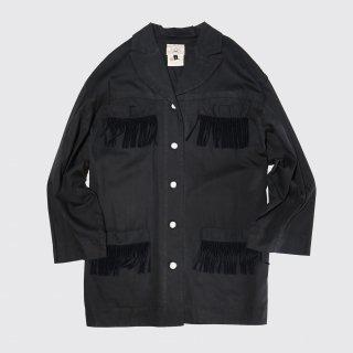 [40%OFF]vintage fringe 4p jacket