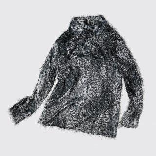 [30%OFF]vintage animal shaggy shirt