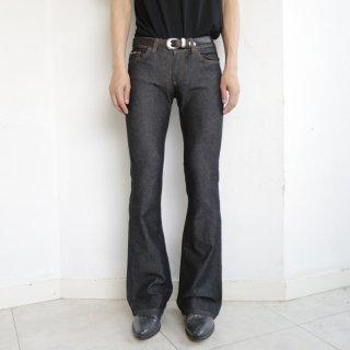 old donna karan flare jeans