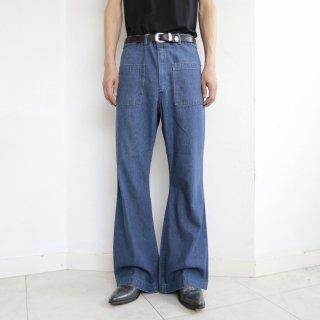 vintage seafarer sailor flare jeans