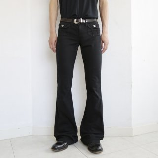 old lowrize flare jeans
