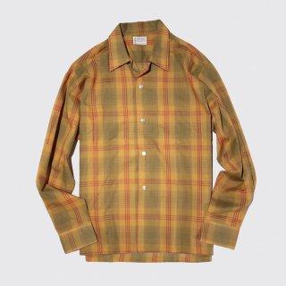 vintage towncraft open collar box shirt