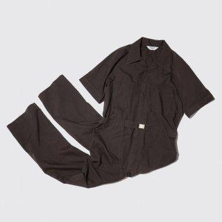 vintage belted h/s jumpsuits