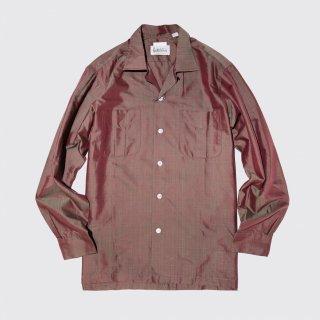 vintage open collar box shirt