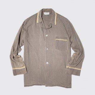vintage stripe sleeper shirt