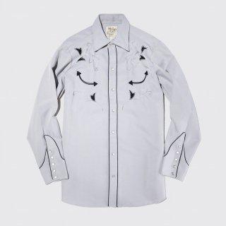 vintage hbarc broiderie western shirt