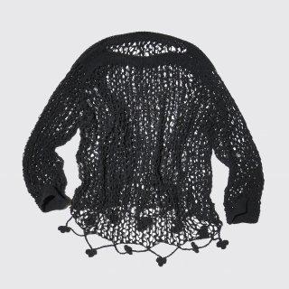 vintage low gauge hand knit sweater