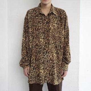 old leopard l/s shirt