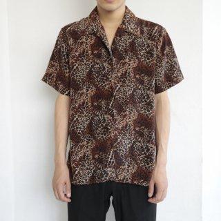 [40%OFF]ld leopard h/s shirt