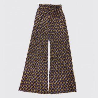 vintage flower flare pants
