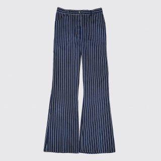 vintage sears stripe flare trousers