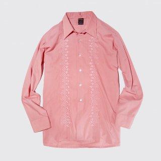 vintage broiderie cotton l/s shirt