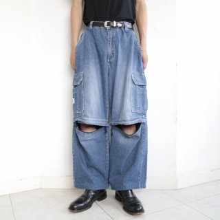 old detachable buggy jeans