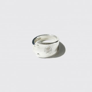 vintage tiffany cutlery ring , sterling silver