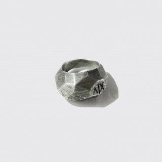 vintage armani solid metal ring