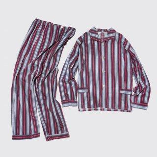 vintage stripe sleeper set up
