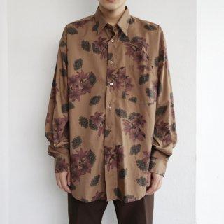 old flower l/s shirt