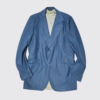 vintage circle poly tailored jacket