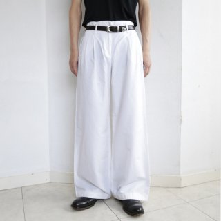 old cotton wide trousers