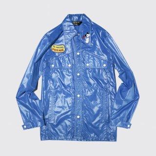 vintage sears custom nylon shirt