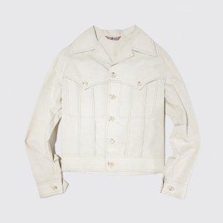 vintage cotton trucker jacket