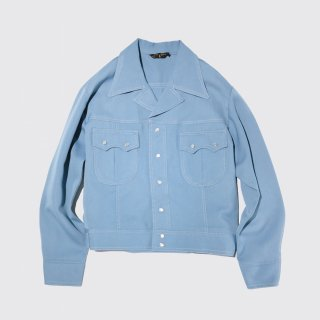 vintage poly trucker jacket
