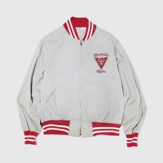 vintage 50's champion cotton jacket , small letter runers tag
