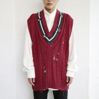 boro custom tilden knit vest