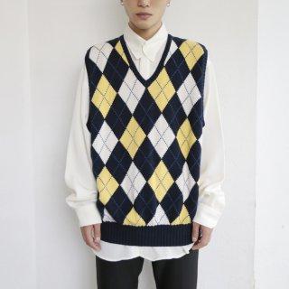 old polo ralph lauren argyle knit vest