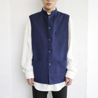 old mao collar tailor vest