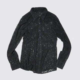 vintage western lace shirt