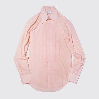 vintage pleats dress shirt