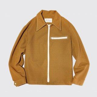 vintage zipped poly jacket