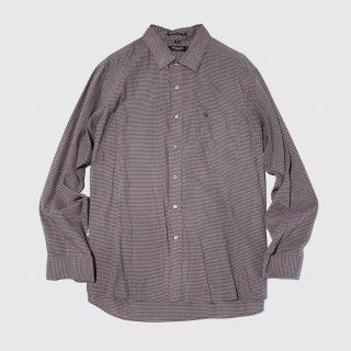 vintage dior check l/s shirt