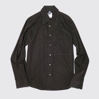 old versace zipped shirt by ittierre s.p.a