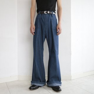 vintage replica sailor flare jeans