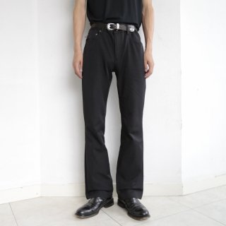 old ralph lauren techno flare trousers