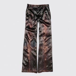 vintage glossy flare slacks