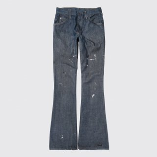 vintage toughskins dirty flare jeans