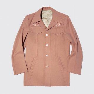 vintage broderie poly jacket