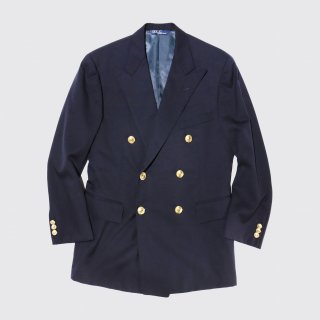 vintage polo ralph lauren double breasted blazer