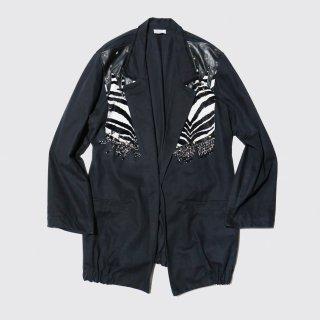 vintage zebra costume jacket