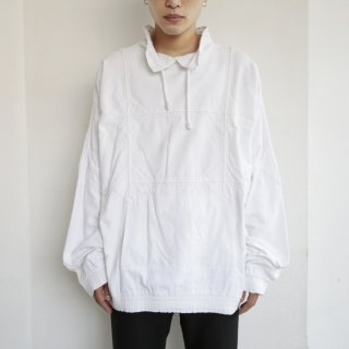 old grid cotton pullover