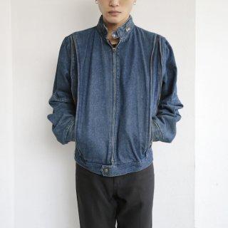 old jc penny zipped denim jacket
